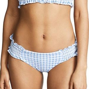 Red Carter Swim Periwinkle bikini bottom